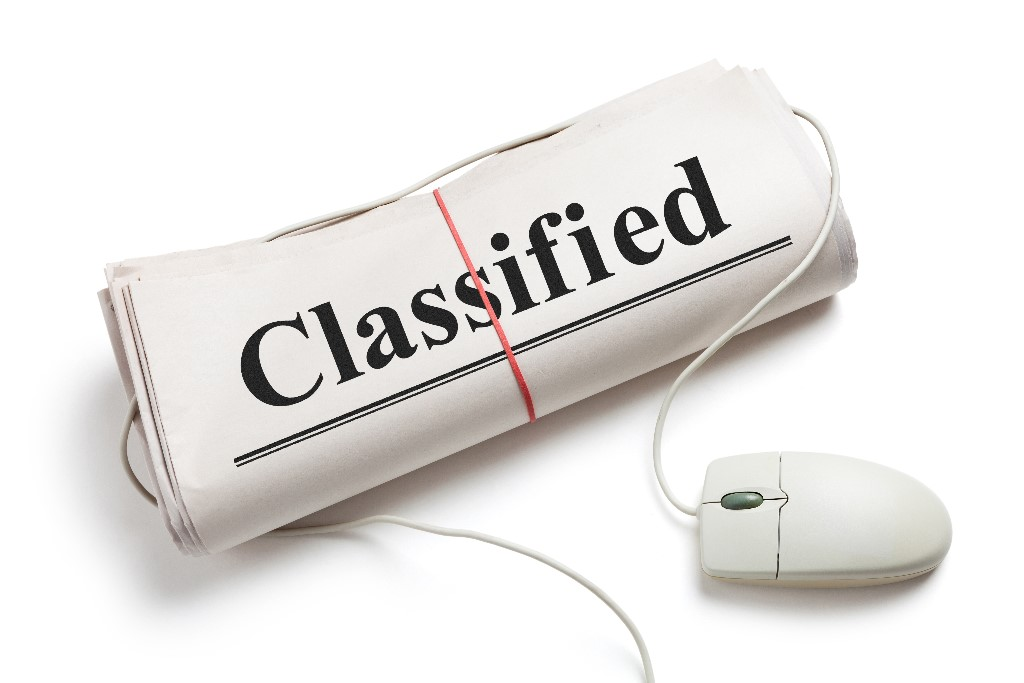 click to see classified ads